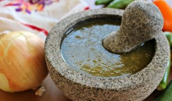 How to Season a Molcajete + VIDEO