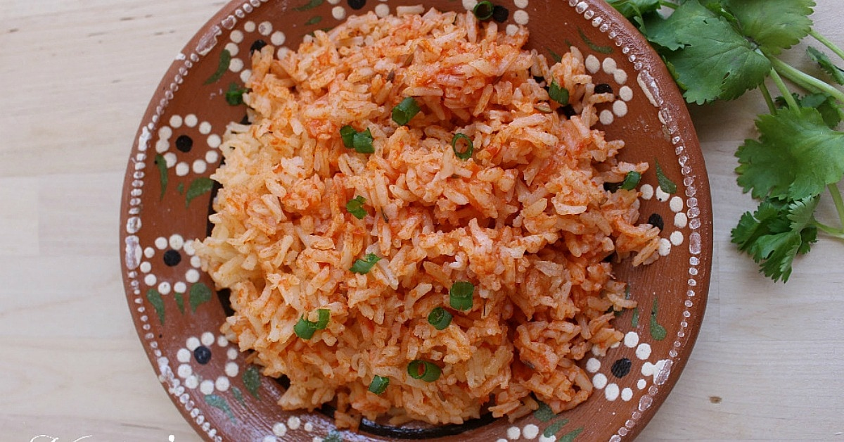 Instant Pot Mexican Rice + VIDEO