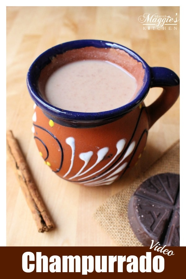 Champurrado is a thick, warm Mexican chocolate drink usually made during the winter months and Holiday season. Here, you will find a step-by-step tutorial and short video on how to make this delicious beverage. By Mama Maggie's Kitchen