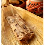 Tamales Dulces (Sweet Tamales) are a favorite during the Holidays. A mixture of fruits and nuts wrapped in corn husks. They make a delicious and yummy Mexican dessert. Watch the VIDEO or check out the step-by-step pictures. By Mama Maggie's Kitchen
