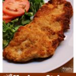 Milanesa de Pollo (Chicken Milanese) is a yummy and quick weekday meal. This chicken recipe comes together in less than 30 minutes. Watch the VIDEO or see the step-by-step pictures below and learn to make this dish for your family. With Video and step-by-step pictures. By Mama Maggie's Kitchen