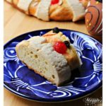 Rosca de Reyes, or Roscón de Reyes, is an oval-shaped Mexican dessert and Spanish dessert eaten on or around January 6th. It celebrates the Three King's visit to the Baby Jesus. A delicious treat with a special surprise inside. See the VIDEO or follow the step-by-step tutorial. By Mama Maggie's Kitchen