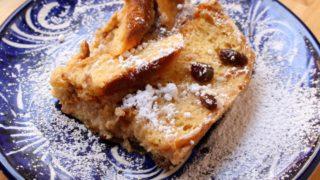 Conchas Bread Pudding (Capirotada de Conchas) + VIDEO