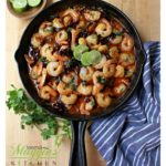 """Camarones al Ajillo is a tasty Mexican dish that comes together in a snap. Juicy, plump, and succulent shrimp swimming in a savory chile sauce. You'll have everyone saying """"Muy Bueno."""" Recipe with VIDEO. By Mama Maggie's Kitchen"""