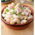 Ensalada de Coditos is an easy Mexican appetizer or side dish that great for parties or potlucks. It comes together in minutes and enjoyed by all. Recipe with video. By Mama Maggie's Kitchen