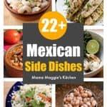 A collage of Mexican side dishes.