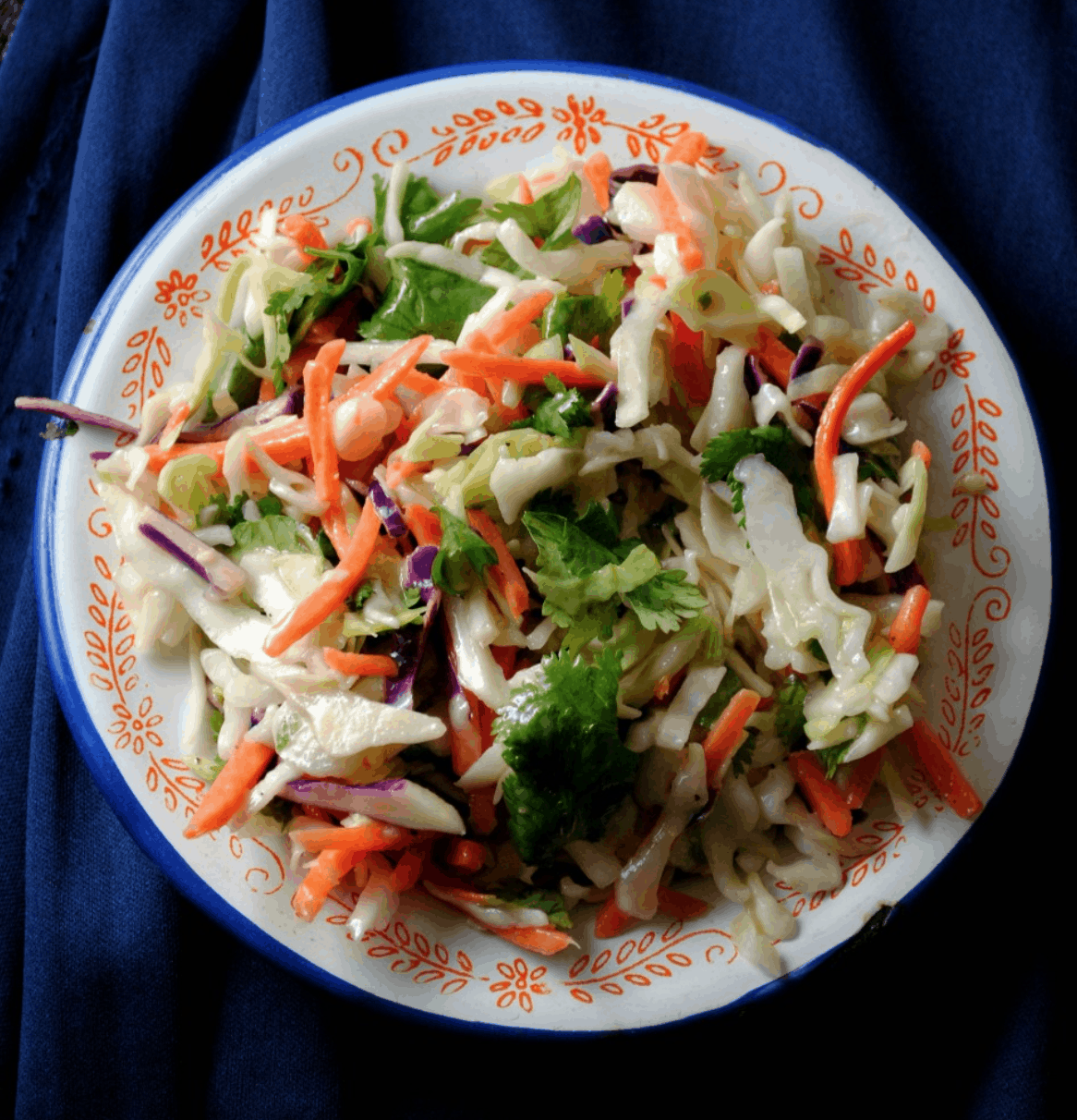 Cumin Lime Coleslaw