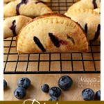 These Blueberry Empanadas are simply delicious. With a flakey crust and juicy blueberry filling, they are perfect for snacking or as a sweet summer treat.
