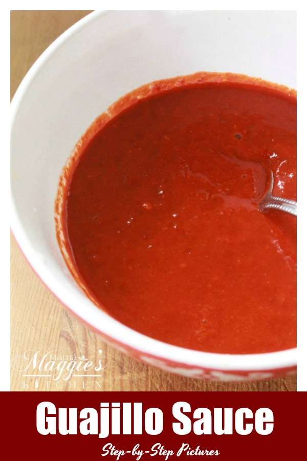 Guajillo Sauce is the start to many amazing and authentic Mexican food recipes. It makes everything great on your plate. You will love how easy this is to make. By Mama Maggie's Kitchen