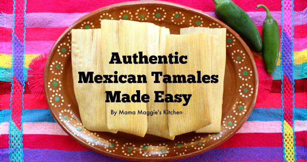A colorful table rug with a Mexican plate full of tamales.